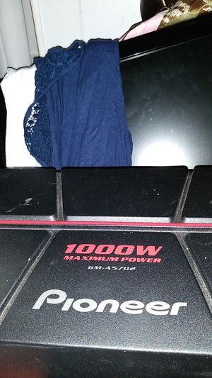 Pioneer 1000 watt amplifier for Sale in Durham, NC