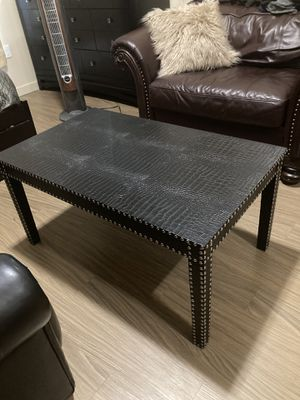 Black Finish Coffee Table for Sale in Portland, OR