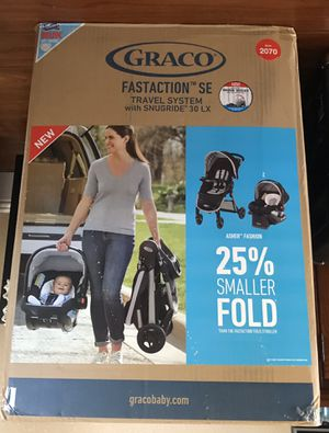 Graco Fastaction SE Travel System for Sale in San Lorenzo, CA