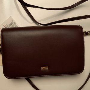 Buxton Burgundy Wristlet Wallet Crossbody Removavle Strap & Checkbook Cover NWT for Sale in Centreville, VA