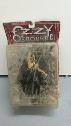 Ozzy Osbourne action figure McFarlane toys for Sale in San Jose, CA