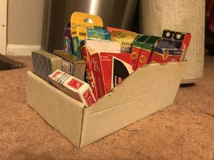 Box of Games (UNO, Crazy Eight, Domino, etc) for Sale in Pico Rivera, CA