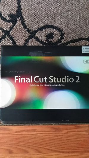Apple Final Cut Studio 2HD for Sale in Durham, NC