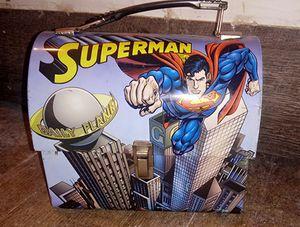 Superman metal lunch box for Sale in Abilene, TX