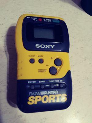 SONY SPORTS WALKMAN SRF-M70 AM/FM STEREO RADIO. for Sale in Tampa, FL