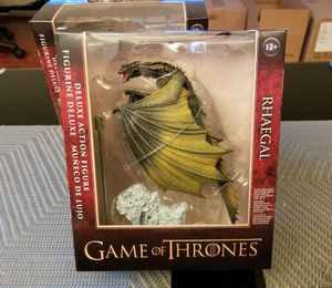 Game of Thrones Rhaegal Deluxe Figure - McFarlane Toys for Sale in Los Angeles, CA