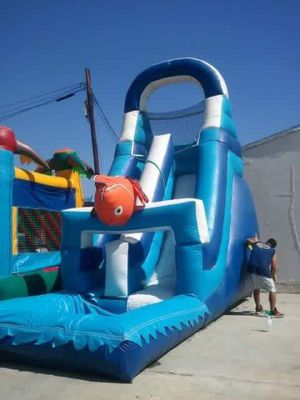 Waterslide w/pool used for Sale in San Bernardino, CA