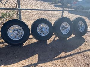 Chevy/GMC Wheels and Tires with Center Caps for Sale in Apache Junction, AZ