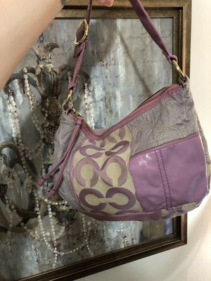 Coach Ali Patchwork Hobo Shoulder Bag Lilac for Sale in Lakewood, WA