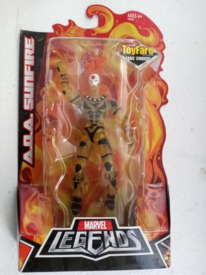 Exclusive ToyFare Fan's Choice Marvel Legends A.O.A. Sunfire Collectible Action Figure Toy for Sale in Chicago, IL