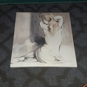 """Painting Of A Woman By Lanie Loreth 12""""×12"""" for Sale in Temecula, CA"""