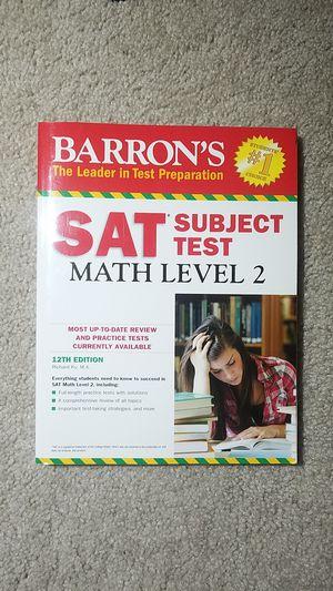 Barron's SAT Subject Test: Math Level 2 for Sale in Fairfax, VA