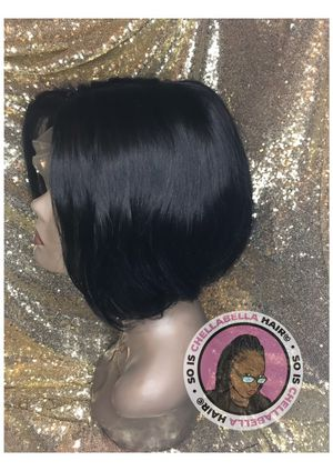 8in 1b , T-part wig ! Not a full lace ! for Sale in Portsmouth, VA