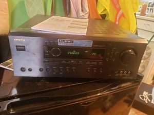 Onkyo AV receiver TX-SR602 for Sale in Aloha, OR