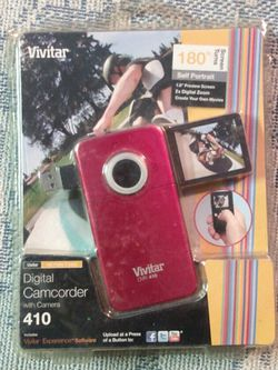Vivitar Digital Camcorder Brand New in the Package for Sale in Wildomar,  CA