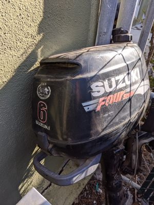Suzuki 6hp 4 stroke long shaft for Sale in Los Angeles, CA