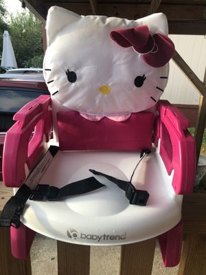 Hello kitty booster chair for Sale in Austin, TX