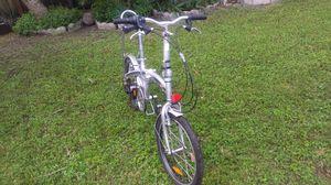 "Folding Bike 20"" Speed Silver for Sale in Miami, FL"
