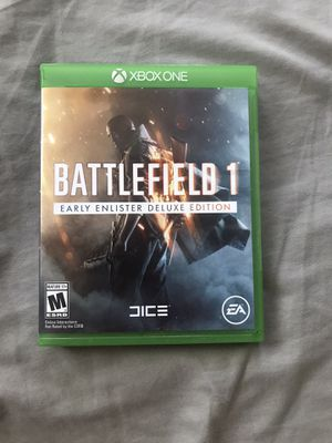 Battlefield 1 Xbox one for Sale in Dallas, TX