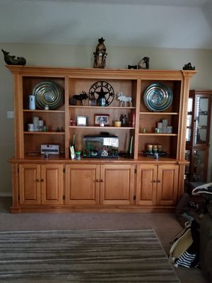 Storage furniture/entertainment center for Sale in OLD RVR-WNFRE, TX