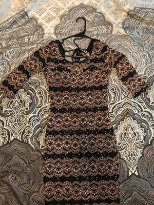 Sequence Dress Black and Gold for Sale in Atlanta, GA