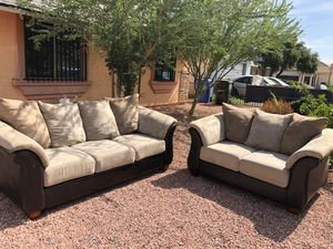 Set of 2 couches. $350 delivery free. for Sale in Phoenix, AZ