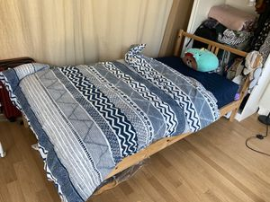 Ikea twins bed with mattress for Sale in New York, NY