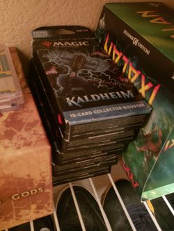 Mtg Kaldheim Collector Booster Packs for Sale in Lynnwood,  WA