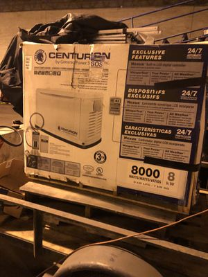 General Centruion whole house backup generator for Sale in Holland, PA