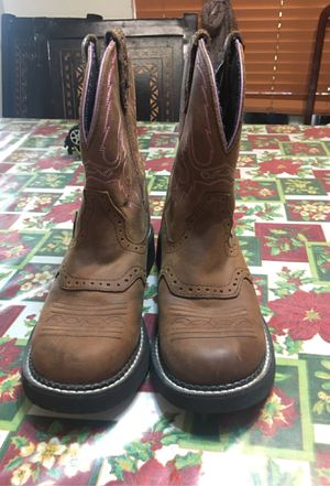 Women Justin boots for Sale in Houston, TX