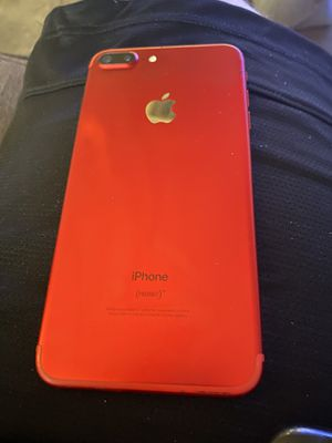iPhone 7+ 128gb Verizon / factory Unlocked 9/10 product red for Sale in Phoenix, AZ