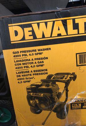 Desalt 4200 psi pressure washer for Sale in Phoenix, AZ