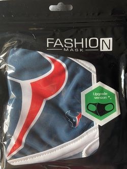 HOUSTON TEXANS NFL PROTECTIVE FACE MASK PACK OF 2 for Sale in Houston,  TX