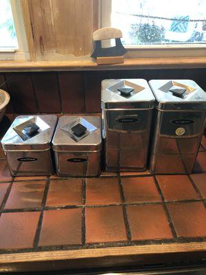 Retro Kitchen Containers for Sale in Dallas, TX