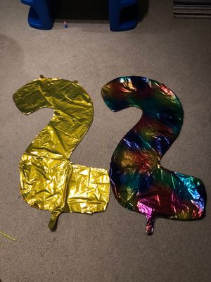 Two number balloons for Sale in Gaithersburg, MD