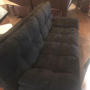 Futon Black for Sale in Visalia, CA