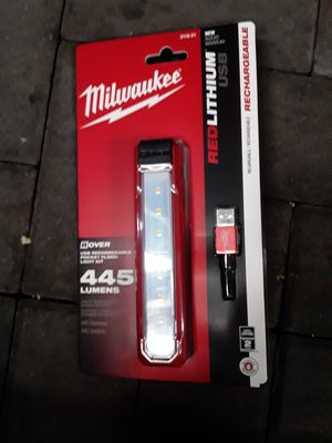 Milwaukee rechargeable light stick 445 lunes for Sale in Portland, OR