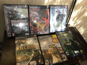PlayStation 2 games all for $15 for Sale in Santa Monica, CA