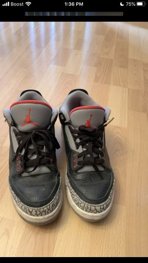 Black cement 3s for Sale in Groveport, OH