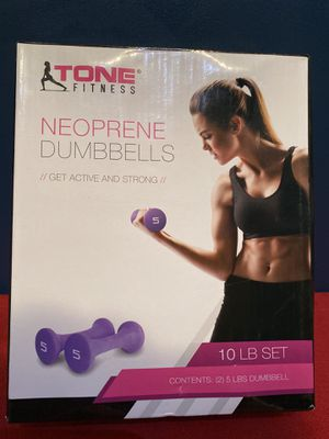 Dumbbell 10LB Set (2) for Sale in Los Angeles, CA