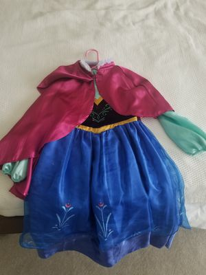Frozen Anna Dress and Cape for Sale in Forest Hills, TN