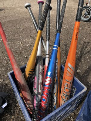 PRICE DROP! Baseball Bats for Sale in Denver, CO