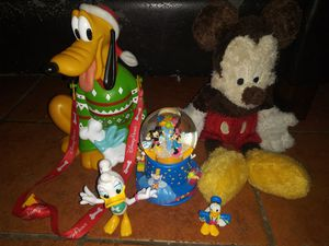 Disney Mickey Mouse and friends bundle free snowglobe with purchase for Sale in Hawthorne, CA