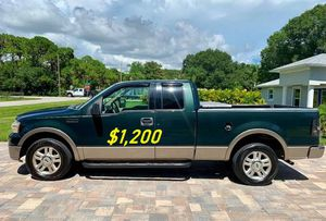 🎁$1,2OO URGENT i selling 2004 Ford F-150 Lariat 4dr truck Runs and drives great beautiful🎁 for Sale in Boston, MA