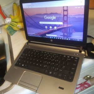 HP Laptop i3 Probook 14 Inch LCD Screen Winsdows 10 Webcam 4GB Ram HDMI USB Ports With Charger Great Condition for Sale in El Monte, CA