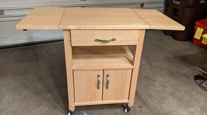 Cabinet with wheels for Sale in Hillsboro, OR