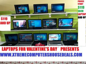 VALENTINE'S DAY 2020 SUPER DEALS LAPTOPS WINDOWS 10 STARTING $119+ UP for Sale in Kennedale, TX