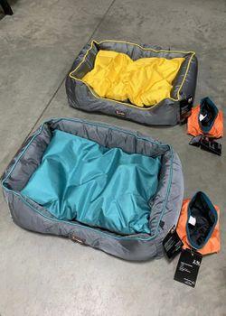 NEW $20 each UFBEMO Medium Size 30x22x9 Inch Machine Washable Waterproof Sleeper Lounge Orthopedic Dog Bed Nonslip Bottom 2 Colors for Sale in Whittier,  CA