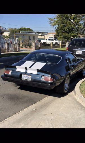 1974 Camaro Type LT 4spd manual for Sale in Laguna Beach, CA