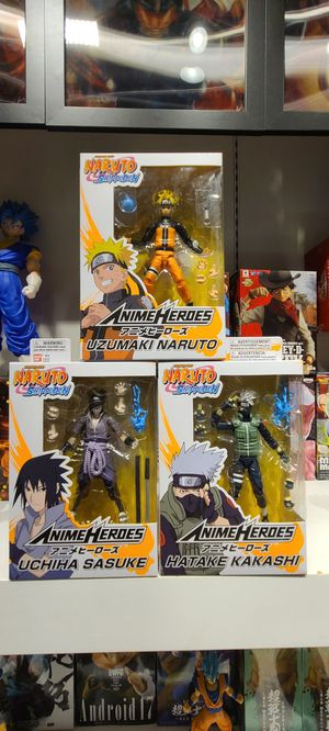 NARUTO ANIME HEROES Figure (ORIGINAL) for Sale in Glendale, CA